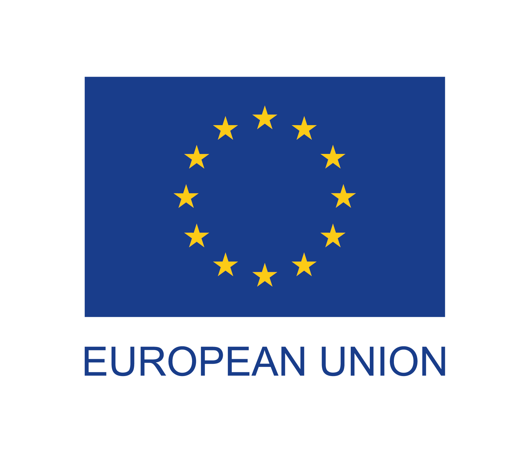 european union flag with text full colour 1